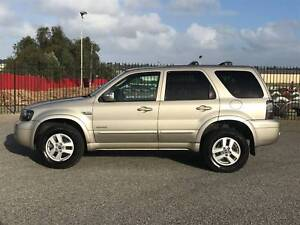 2006 Ford Escape 4x4 Luxury Wagon Automatic 183xxxkms $7990