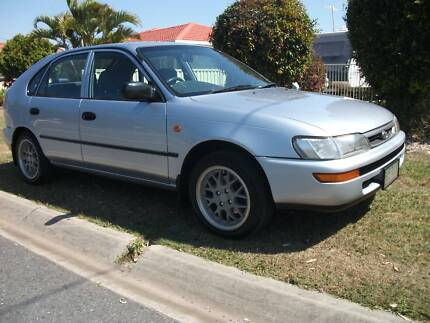 1996 Toyota Corolla CONQUEST SECA Manual Hatchback Deception Bay Caboolture Area Preview