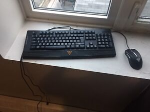 Ares gaming keybord and mouse combo