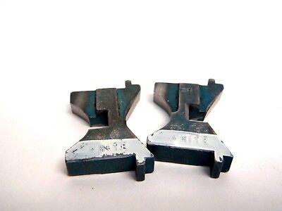 Set Of 2 Semtorq Fc Series White Cutter Blades For Tip Dresser Cutter Welder