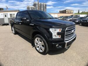 2016 Ford F-150 LIMITED -  ECOBOOST/ PANOROOF/ H&C LEATHER/ NAVI