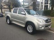 2010 Toyota Hilux Ute GGN25R SR5 Dual Cab 4dr Auto 4x4 MY10 Mermaid Beach Gold Coast City Preview
