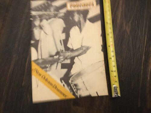 Vintage Music Book UK FOOTNOTE New Orleans Drummer 1976