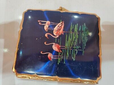 VINTAGE STRATTON ENAMEL & GOLD CIGARETTE CASE ENGLAND MADE 475/21
