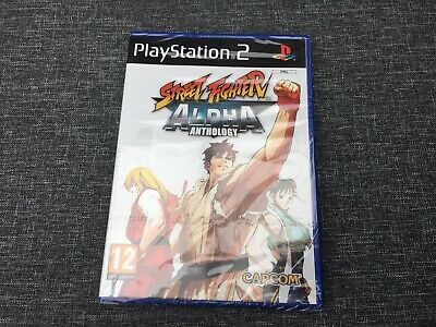 Street Fighter Alpha Anthology PS2 Neu