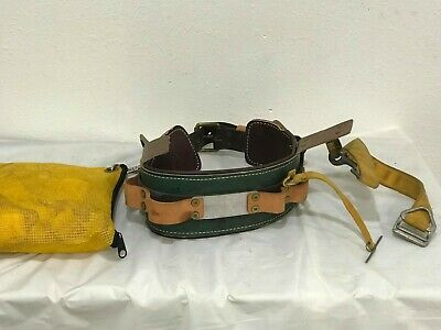 Buckingham Ring Lineman Pole Climbing Body Belt - Size22 Usa.w Dicke 1201