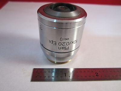 Microscope Objective Reichert Austria 10x Polycon Epi Infinity Optics B11-dt-01