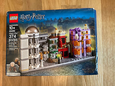 NEW/SEALED Lego Harry Potter Diagon Alley 40289 - Limited Edition/Promo Item