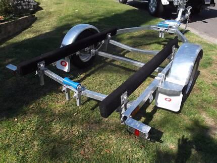 boat pwc trailer galvanised 4 mtr jockey wheel LED lights Sydney Belrose Warringah Area Preview