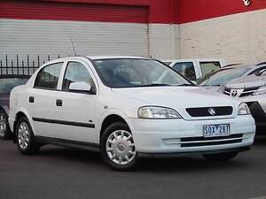 2003 Holden Astra Sedan  *** LOW KMS ***  $5,990 DRIVE AWAY *** Footscray Maribyrnong Area Preview