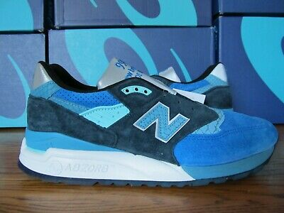 New Balance 998 Blue Silver 3M 8.5 M998NE Made in USA concepts kith fieg se