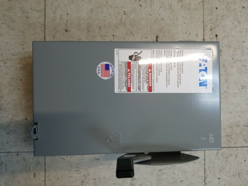 NEW OLD STOCK Cutler Hammer DG221UGB 30 Amp 240V 2 Pole Non Fusible Disconnect