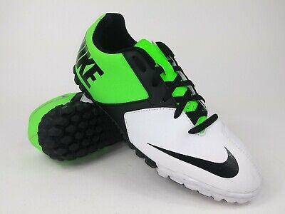 0c7b9970a Nike Mens Rare Bomba II Turf Soccer Shoes Cleats 580444-103 White Lime Size  8