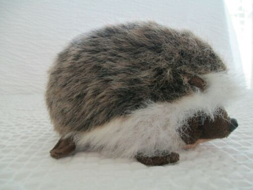 "HANSA Vintage Retired Hedgehog 7"" Plush Soft Animal"