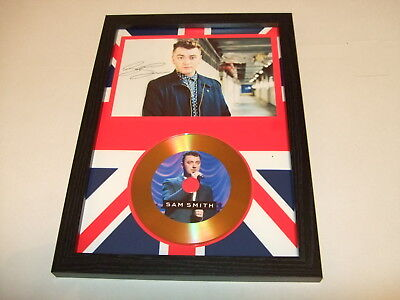 SAM SMITH  SIGNED  GOLD CD  DISC 3