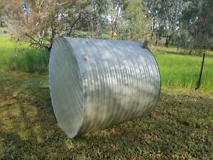 Free 10,000 litre corrugated iron water tank
