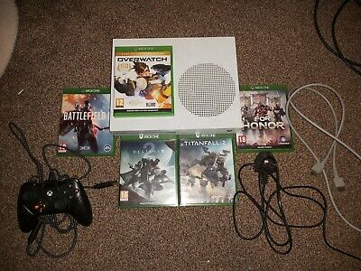 Xbox One S 500gb, Console, Controller and 5 Games- Amazing Console