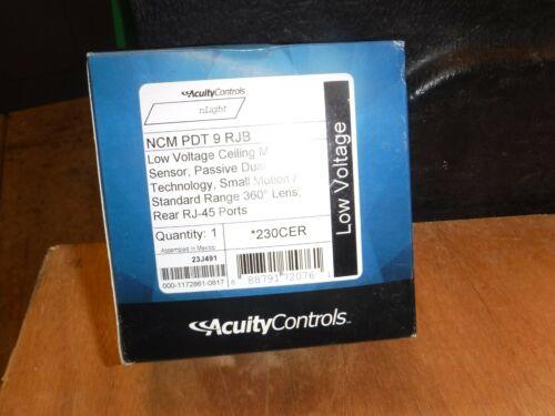 Acuity nLight NCM PDT WH 9 RJB Motion Sensor 360 230CER
