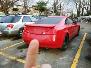 Infiniti G35 Coupe 2003 Rouge