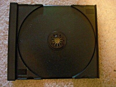 25 Replacement Tray Black Inner Insert For Cd Music Games Dvd Jewel Case