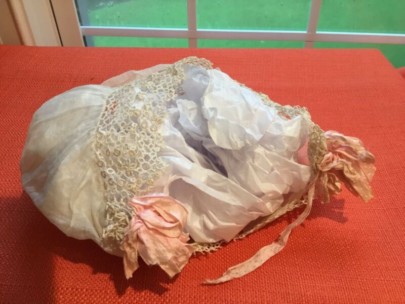 Antique Baby Bonnet Early 1900s