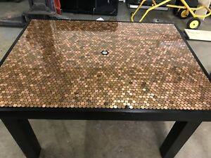 Never used penny table