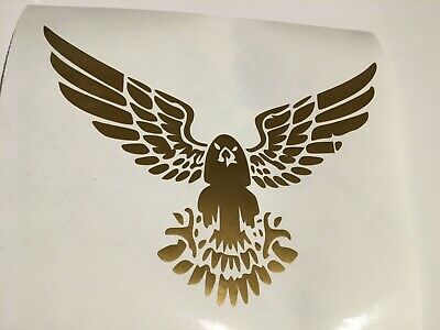 Golden Eagle,car decal/ sticker for windows, bumpers,panels or laptop