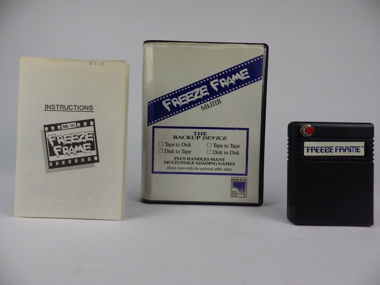  CIB Boxed Commodore 64 Freeze Frame MKIII B Cartr…