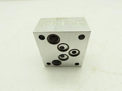Daman Ad03d05vaabm Aluminum Valve Manifold Block D03d05
