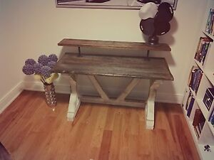 Reclaimed barn wood desk / furniture