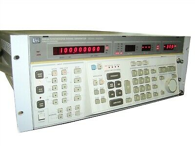 Hewlett Packard Hp Agilent 8663a Synthesized Signal Generator 100-khz-2560mhz