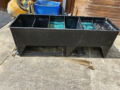 Large Koi Pond Filter, 15000 6 Bay, All Media, New Fitments, New Decking Lid