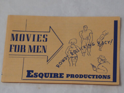 Esquire Productions Movies For Men 8mm +16mm-Chicago