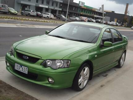 2004 Ford Falcon BA XR6 Sedan 4dr Spts Auto 4sp 4.0i