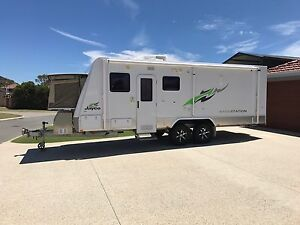 2012 Jayco Basestation Outback 22ft Hillarys Joondalup Area Preview