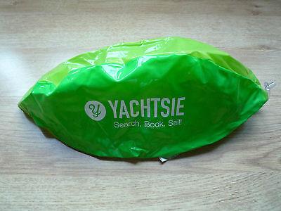 Green Beach Ball YACHTSIE Search. Book. Sail! 30CM diameter NEW for summer swim