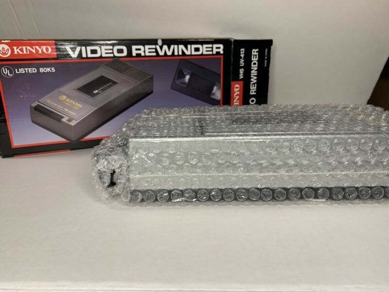 KINYO Video Rewinder VHS UV- 413