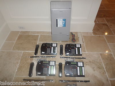 Nortel Norstar Mics Office Phone System Meridian 4 T7316 Phones