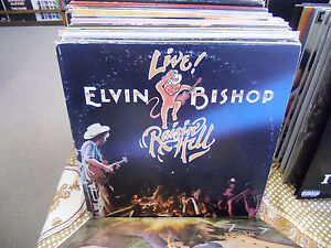 Elvin-Bishop-Live-vinyl-2x-LP-1977-Capricorn-Records-VG-g-f