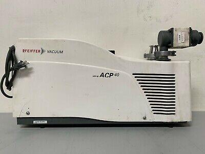 Adixen Pfeiffer Acp 40 Dry-scroll 22 Cfm Vacuum Pump Mfg 2019 W 225hrs 110-230v