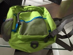 EUC Eddie Bauer Harness Toddler Backpack Lime Green