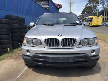 BMW X5 E53 AUTOMATIC 4.4 V8 Now wrecking entire car!! Northmead Parramatta Area Preview