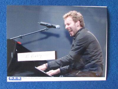"""Original Press Photo - 8""""x6"""" - Coldplay - Chris Martin - 2005 - I"""