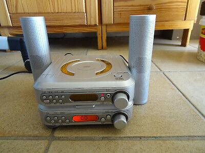 Radio / lecteur CD PA303B Type CD8600B 18x18cm ht 9 cm + mode d'emploi neuf
