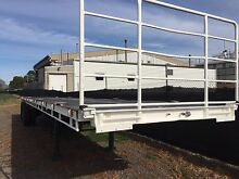 44ft freighter flat top trailer West Footscray Maribyrnong Area Preview
