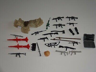 Gi Joe Weapons (GI Joe Cobra 1980s weapons and parts lot some rare items)