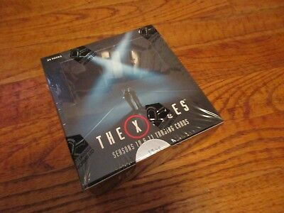X-Files Seasons 10 & 11 Trading Cards Factory Sealed Box w/ 3 Autographs + P1