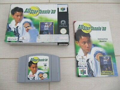 All Stars Tennis 99 complet Boxed + Booklet Nintendo 64 N64