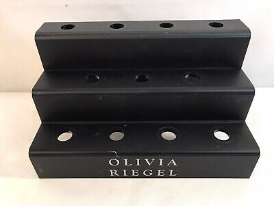 Olivia Riegel Counter Top Point Of Sale Blackplastic Store Small Display Fixture