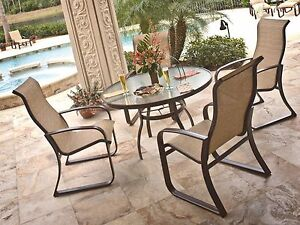 Sunbrella Fabric Tan Brown Upholstery BTY FABRIC Outdoor Chair Webbing Mesh